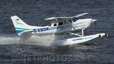 D-EBDK - Cessna T206H Stationair TC - Private