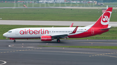 D-ABKG - Boeing 737-86J - Air Berlin