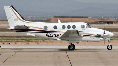 N272EA - Beechcraft C90B King Air - Private