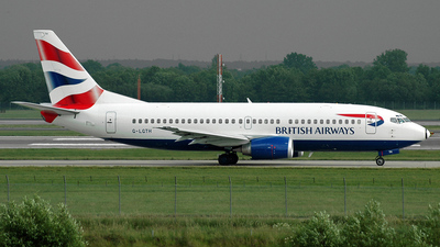 G-LGTH - Boeing 737-3Y0 - British Airways