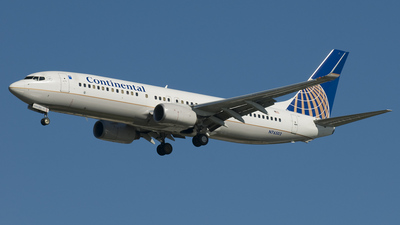 N76502 - Boeing 737-824 - Continental Airlines