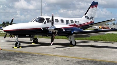 A picture of N443DW - Cessna 441 Conquest - [4410313] - © William Jenkins