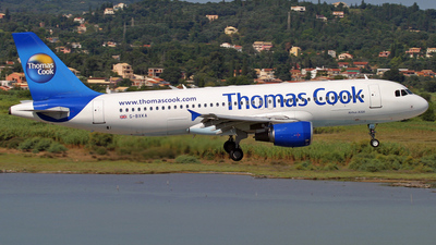 G-BXKA - Airbus A320-214 - Thomas Cook Airlines