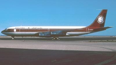 G-AXGX - Boeing 707-336C - Qatar - Amiri Flight