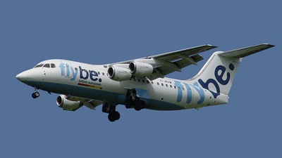 G-JEAW - British Aerospace BAe 146-200 - Flybe