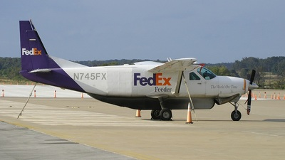 N745FX - Cessna 208B Super Cargomaster - FedEx Feeder (Baron Aviation Services)