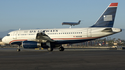 N830AW - Airbus A319-132 - US Airways (America West Airlines)