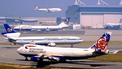 N495MC - Boeing 747-47UF(SCD) - British Airways Cargo (Atlas Air)