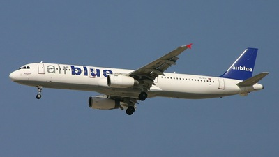 TC-IEH - Airbus A321-231 - AirBlue (Inter Airlines)