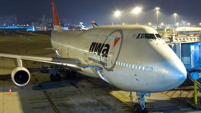 N668US - Boeing 747-451 - Northwest Airlines