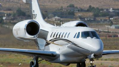 N712VP - Cessna 750 Citation X - Private