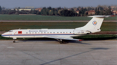 LZ-TUN - Tupolev Tu-134A-3 - Albanian Airlines