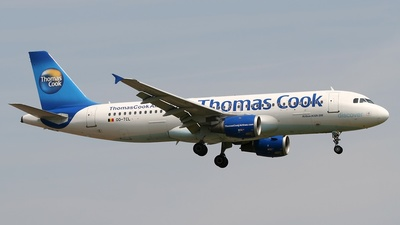 OO-TCL - Airbus A320-211 - Thomas Cook Airlines Belgium