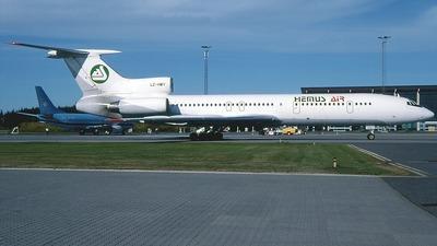 LZ-HMY - Tupolev Tu-154M - Hemus Air