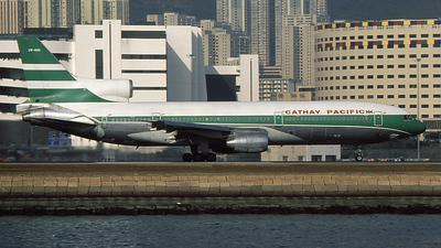 VR-HOD - Lockheed L-1011-1 Tristar - Cathay Pacific Airways