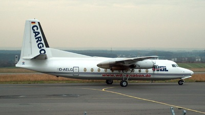 D-AELG - Fokker F27-600 Friendship - WDL Aviation
