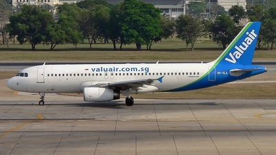 9V-VLA - Airbus A320-232 - Valuair