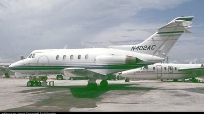 N402AC - Hawker Siddeley HS-125-1A - Private