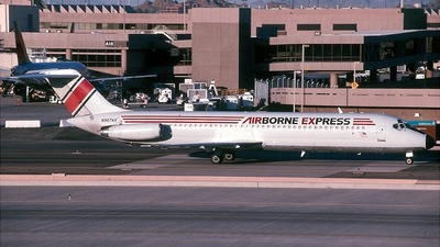 N967AX - McDonnell Douglas DC-9-41 - Airborne Express