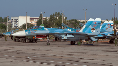 87 - Sukhoi Su-33 Flanker - Russia - Navy