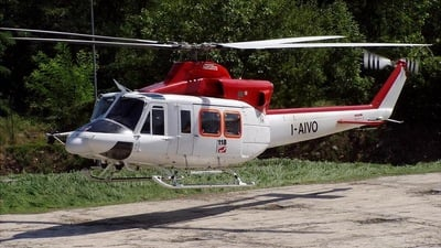 I-AIVO - Bell 412 - Air Green