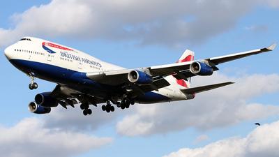 G-CIVX - Boeing 747-436 - British Airways