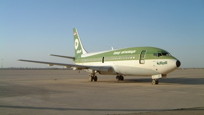 YI-AOF - Boeing 737-281 - Iraqi Airways