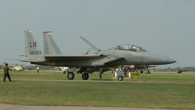 97-0217 - McDonnell Douglas F-15D Eagle - United States - US Air Force (USAF)