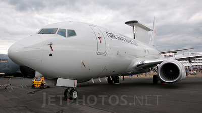 N360BJ - Boeing 737-7ES Peace Eagle - Turkey - Air Force