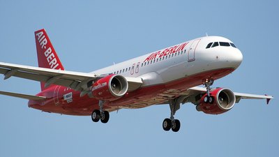 F-WWBP - Airbus A320-214 - Air Berlin
