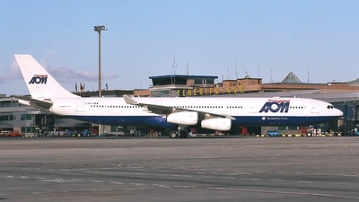 F-GTUA - Airbus A340-313X - AOM French Airlines