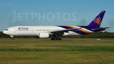 HS-TJG - Boeing 777-2D7 - Thai Airways International