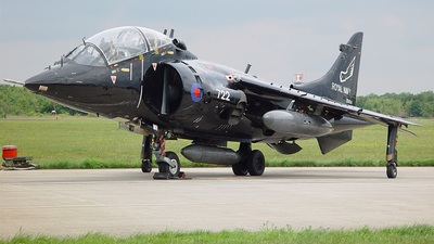 ZB604 - British Aerospace Harrier T.8 - United Kingdom - Royal Navy