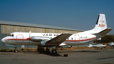 3C-JJX - Hawker Siddeley Andover 1 - Jesus Alive Ministries Air (JAM)