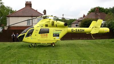 G-SASH - McDonnell Douglas MD-900 Explorer - Yorkshire Air Ambulance