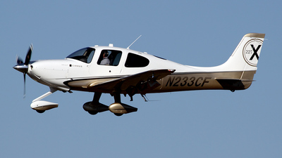 N233CF - Cirrus SR22T-GSx - Private
