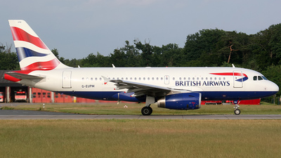 G-EUPM - Airbus A319-131 - British Airways