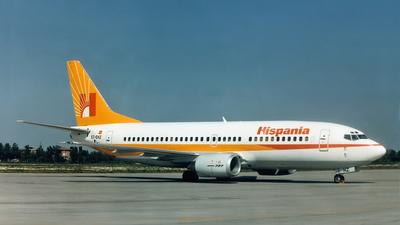 EC-EHZ - Boeing 737-3Y0 - Hispania Líneas Aéreas