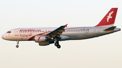 A6-ABE - Airbus A320-214 - Air Arabia