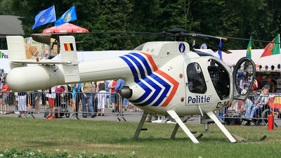 G-14 - McDonnell Douglas MD-520N - Belgium - Federal Police