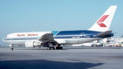 C-GPWA - Boeing 767-275 - Pacific Western Airlines