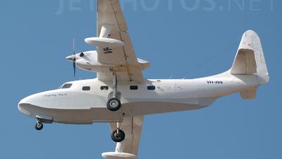 A picture of VHPPI - Grumman G73AT Turbo Mallard - [J23] - © Martin Eadie