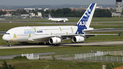 F-WWJB - Airbus A380-861 - Airbus Industrie