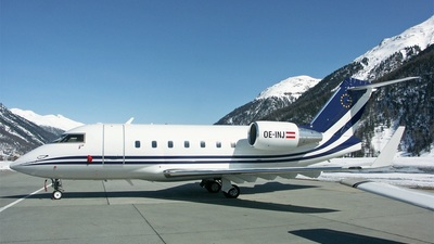 OE-INJ - Bombardier CL-600-2B16 Challenger 604 - Transair