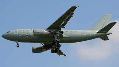 10-26 - Airbus A310-304(MRTT) - Germany - Air Force