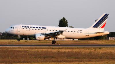 F-GHQF - Airbus A320-211 - Air France