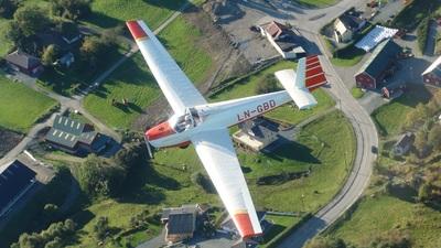 LN-GBD - Scheibe SF-25C MotorFalke - Aero Club - Bergen