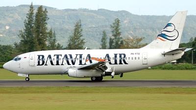 PK-YTD - Boeing 737-2T4(Adv) - Batavia Air