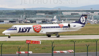 SP-LGD - Embraer ERJ-145EP - LOT Polish Airlines