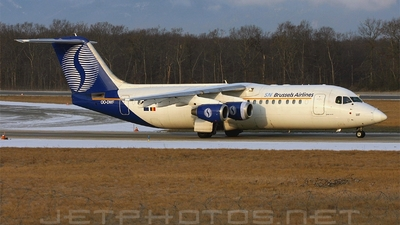 OO-DWF - British Aerospace Avro RJ100 - SN Brussels Airlines